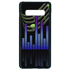 Speakers Music Sound Samsung Galaxy S10 Plus Seamless Case (black)