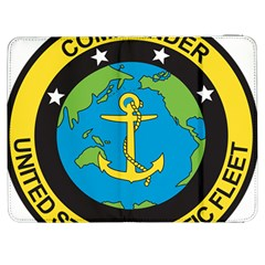 Seal Of Commander Of United States Pacific Fleet Samsung Galaxy Tab 7  P1000 Flip Case by abbeyz71