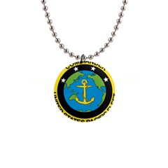 Seal Of Commander Of United States Pacific Fleet 1  Button Necklace by abbeyz71