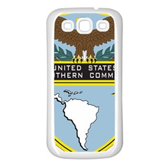 Seal Of United States Southern Command Samsung Galaxy S3 Back Case (white) by abbeyz71