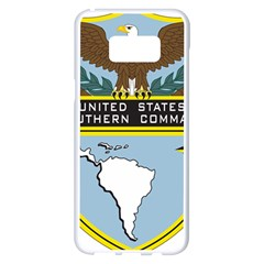 Seal Of United States Southern Command Samsung Galaxy S8 Plus White Seamless Case by abbeyz71