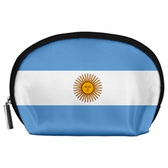 Argentina Flag Accessory Pouch (large) by FlagGallery