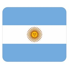 Argentina Flag Double Sided Flano Blanket (small)  by FlagGallery