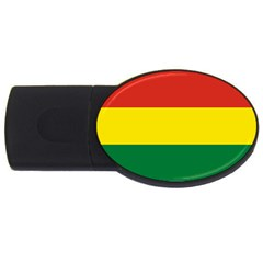 Bolivia Flag Usb Flash Drive Oval (2 Gb) by FlagGallery