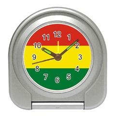 Bolivia Flag Travel Alarm Clock by FlagGallery