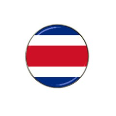 Costa Rica Flag Hat Clip Ball Marker by FlagGallery