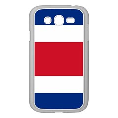 Costa Rica Flag Samsung Galaxy Grand Duos I9082 Case (white) by FlagGallery