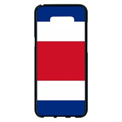 Costa Rica Flag Samsung Galaxy S8 Plus Black Seamless Case by FlagGallery