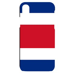 Costa Rica Flag Iphone X/xs Black Uv Print Case by FlagGallery