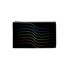 Wallpaper Background Colors Neon Cosmetic Bag (small)
