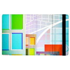 City Modern Business Skyscrapers Apple Ipad Pro 12 9   Flip Case by Pakrebo