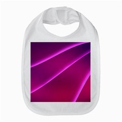 Pattern Purple Design Bib