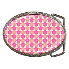 Sakura Flower Pattern Belt Buckles by Pakrebo