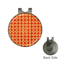 Wallpaper Illustration Pattern Hat Clips with Golf Markers