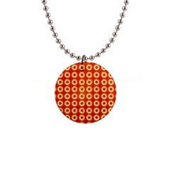 Wallpaper Illustration Pattern 1  Button Necklace
