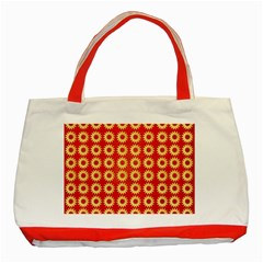 Wallpaper Illustration Pattern Classic Tote Bag (Red)