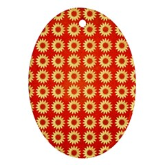 Wallpaper Illustration Pattern Oval Ornament (Two Sides)
