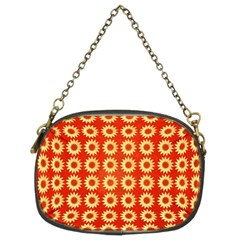 Wallpaper Illustration Pattern Chain Purse (Two Sides)