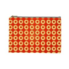 Wallpaper Illustration Pattern Cosmetic Bag (Large)