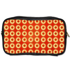 Wallpaper Illustration Pattern Toiletries Bag (Two Sides)