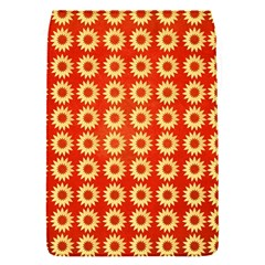 Wallpaper Illustration Pattern Removable Flap Cover (S)
