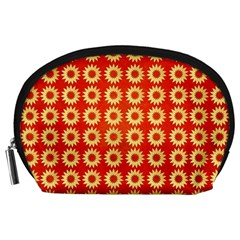 Wallpaper Illustration Pattern Accessory Pouch (Large)