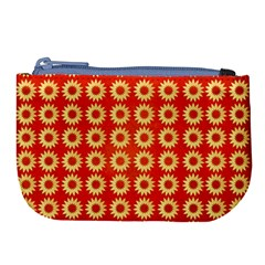 Wallpaper Illustration Pattern Large Coin Purse