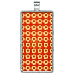 Wallpaper Illustration Pattern Rectangle Necklace