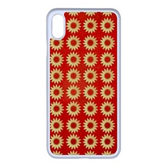 Wallpaper Illustration Pattern iPhone XS Max Seamless Case (White)