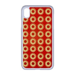 Wallpaper Illustration Pattern iPhone XR Seamless Case (White)
