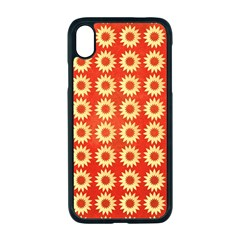 Wallpaper Illustration Pattern iPhone XR Seamless Case (Black)