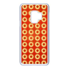 Wallpaper Illustration Pattern Samsung Galaxy S9 Seamless Case(White)
