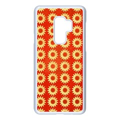 Wallpaper Illustration Pattern Samsung Galaxy S9 Plus Seamless Case(White)