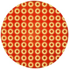 Wallpaper Illustration Pattern Wooden Puzzle Round