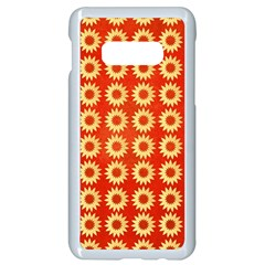 Wallpaper Illustration Pattern Samsung Galaxy S10e Seamless Case (White)