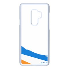 Flag Map Of Tierra Del Fuego Province, Argentina Samsung Galaxy S9 Plus Seamless Case(white) by abbeyz71