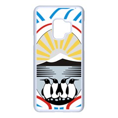 Coat Of Arms Of Tierra Del Fuego Province, Argentina Samsung Galaxy S9 Seamless Case(white) by abbeyz71