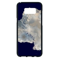 Satellite Image Of Antarctica Samsung Galaxy S8 Plus Black Seamless Case by abbeyz71