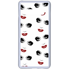 Bianca Del Rio Pattern Samsung Galaxy S10 Plus Seamless Case(white)