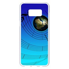 Music Reble Sound Concert Samsung Galaxy S8 Plus White Seamless Case