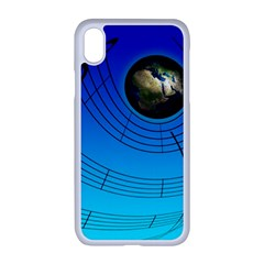 Music Reble Sound Concert Iphone Xr Seamless Case (white)