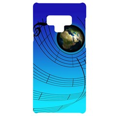 Music Reble Sound Concert Samsung Note 9 Black Uv Print Case  by HermanTelo