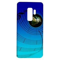 Music Reble Sound Concert Samsung Galaxy S9 Plus Tpu Uv Case by HermanTelo