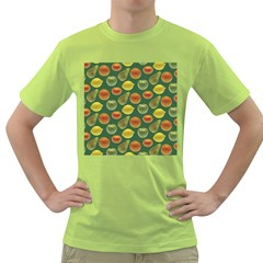 Background Fruits Several Green T Shirt by Jojostore