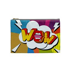 Wow Mouth Polka Pop Cosmetic Bag (medium)
