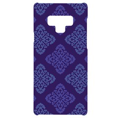 Seamless Continuous Samsung Note 9 Black Uv Print Case  by Alisyart