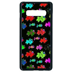 Fish 2 Samsung Galaxy S10 Plus Seamless Case (black)