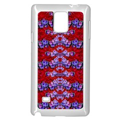 Flowers So Small On A Bed Of Roses Samsung Galaxy Note 4 Case (white) by pepitasart