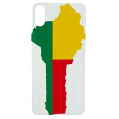 Benin Africa Borders Country Flag Apple Iphone Xs Tpu Uv Case
