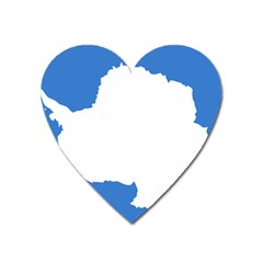 Proposed Flag Of Antarctica Heart Magnet by abbeyz71